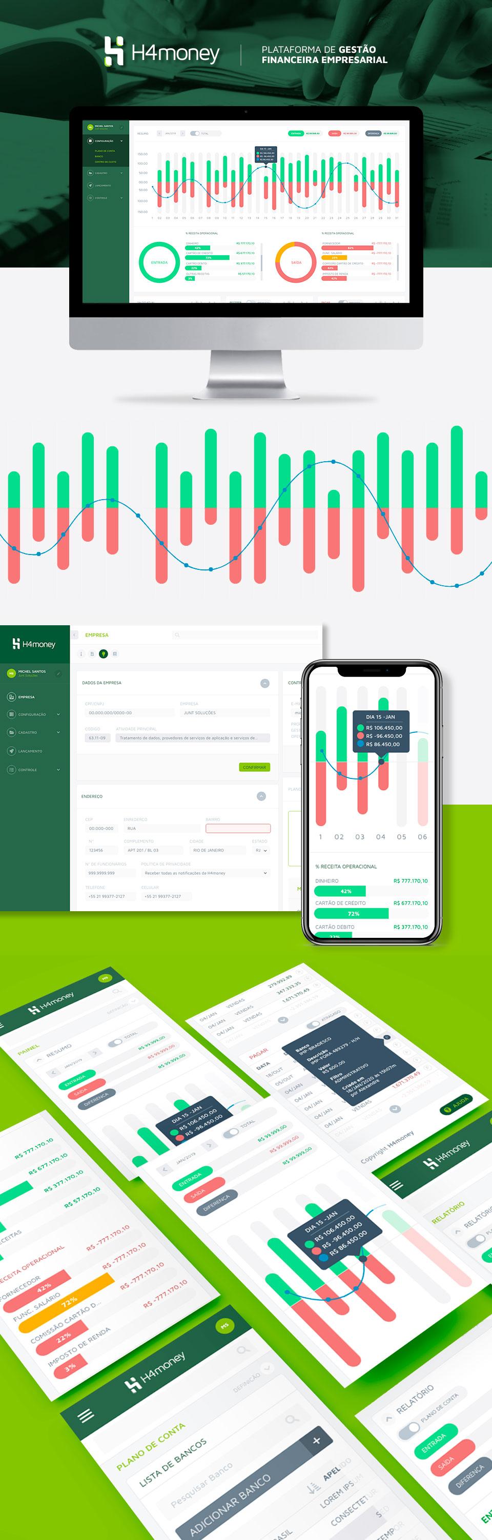 Plataforma de contabilidade H4money - Junt